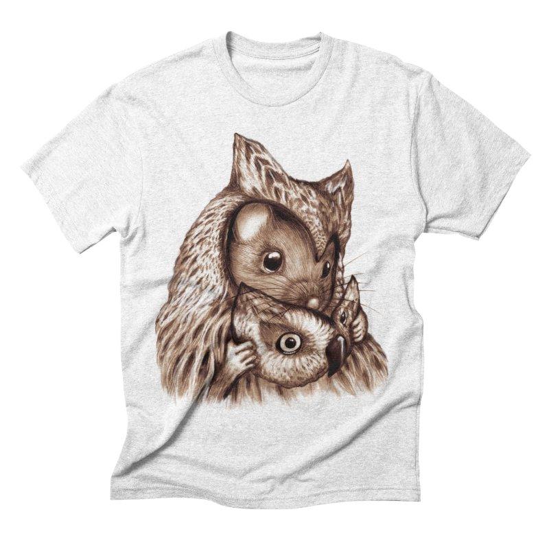 REVEALED Men's Triblend T-shirt by Jemae's Design