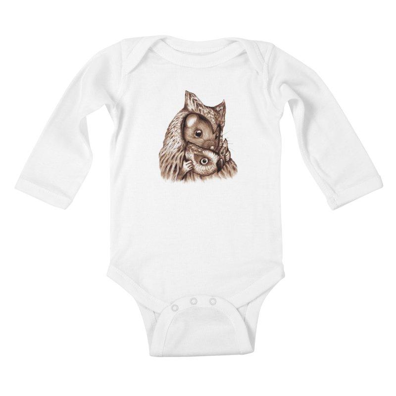 REVEALED Kids Baby Longsleeve Bodysuit by Jemae's Design