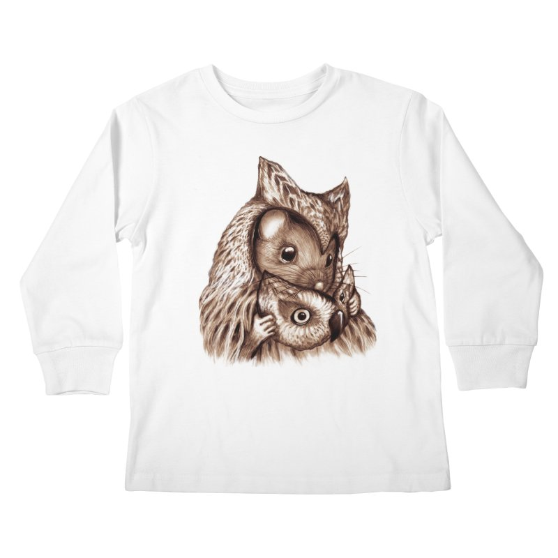 REVEALED Kids Longsleeve T-Shirt by Jemae's Design
