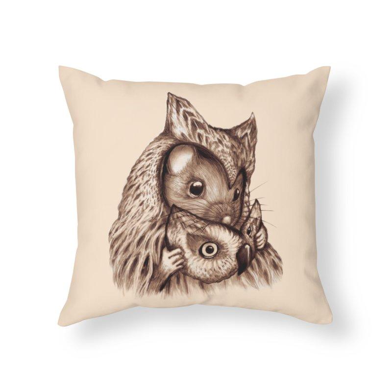REVEALED Home Throw Pillow by Jemae's Design