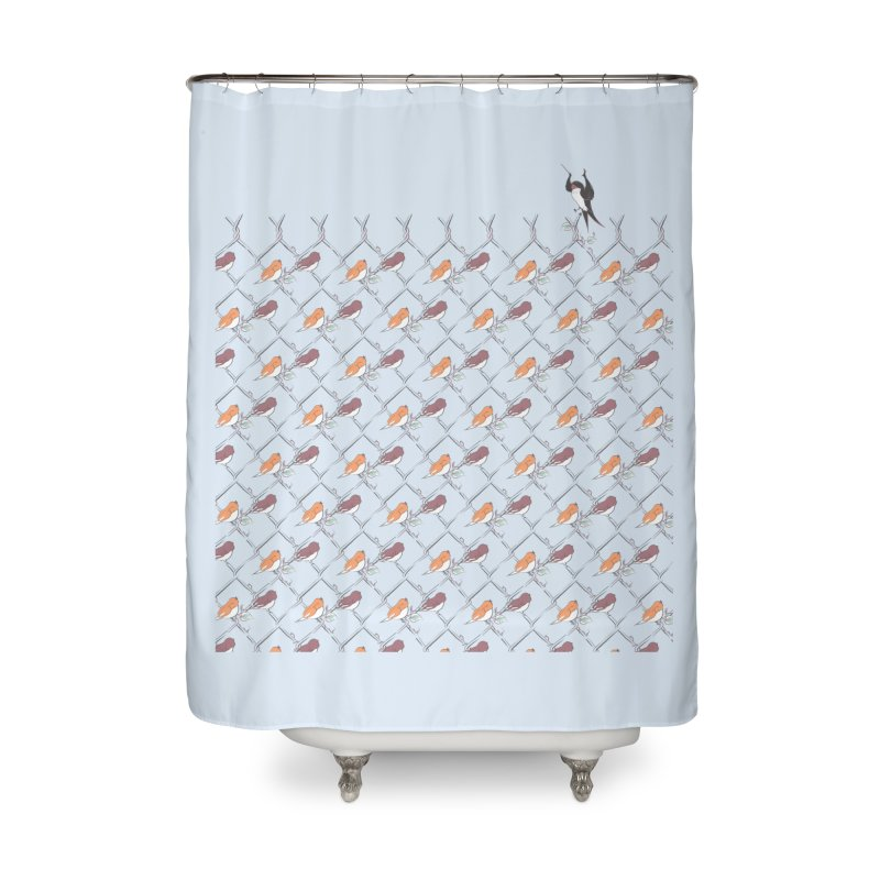 The Conductor Home Shower Curtain by Jemae's Design
