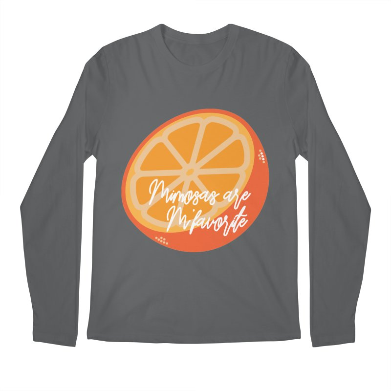 Mimosas are M'favorite Men's Longsleeve T-Shirt by jenbachelder's Artist Shop