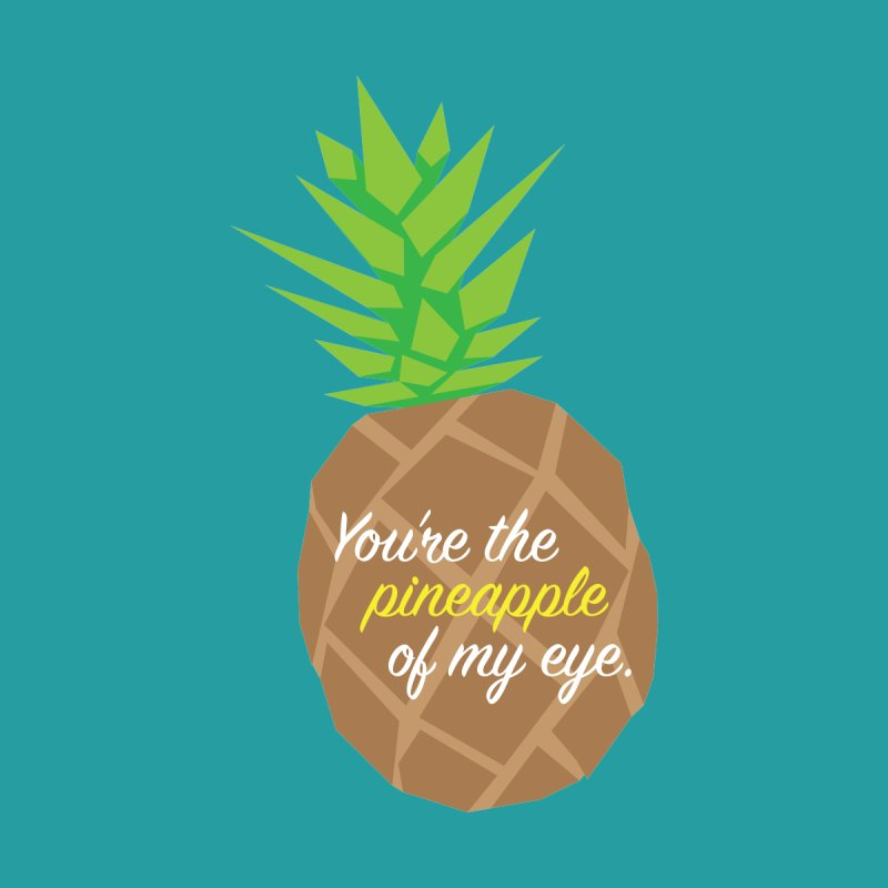 You're the Pineapple of My Eye Accessories Bag by jenbachelder's Artist Shop