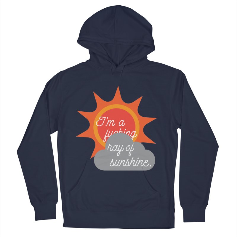 I'm a Ray of Sunshine Men's Pullover Hoody by jenbachelder's Artist Shop