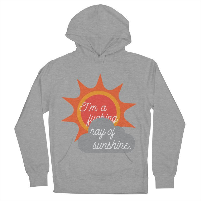 I'm a Ray of Sunshine Men's French Terry Pullover Hoody by jenbachelder's Artist Shop