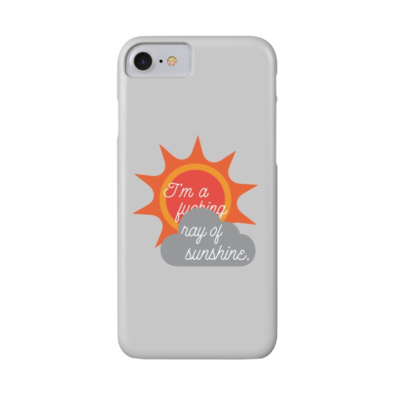I'm a Ray of Sunshine Accessories Phone Case by jenbachelder's Artist Shop