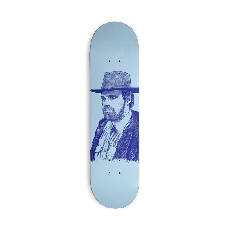 Hopper Accessories Deck Only Skateboard by jenbackman's Artist Shop