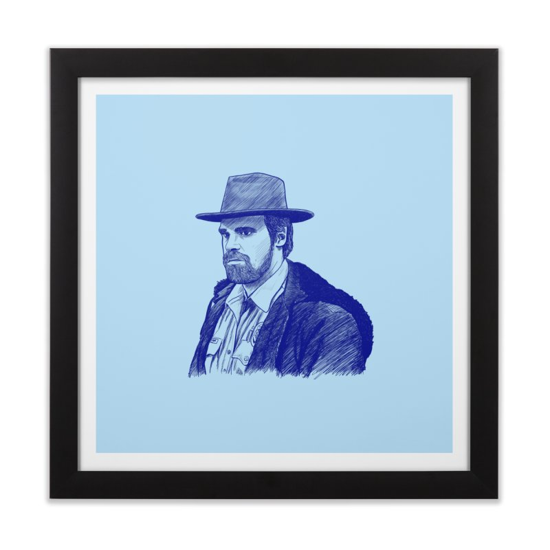 Hopper Home Framed Fine Art Print by jenbackman's Artist Shop
