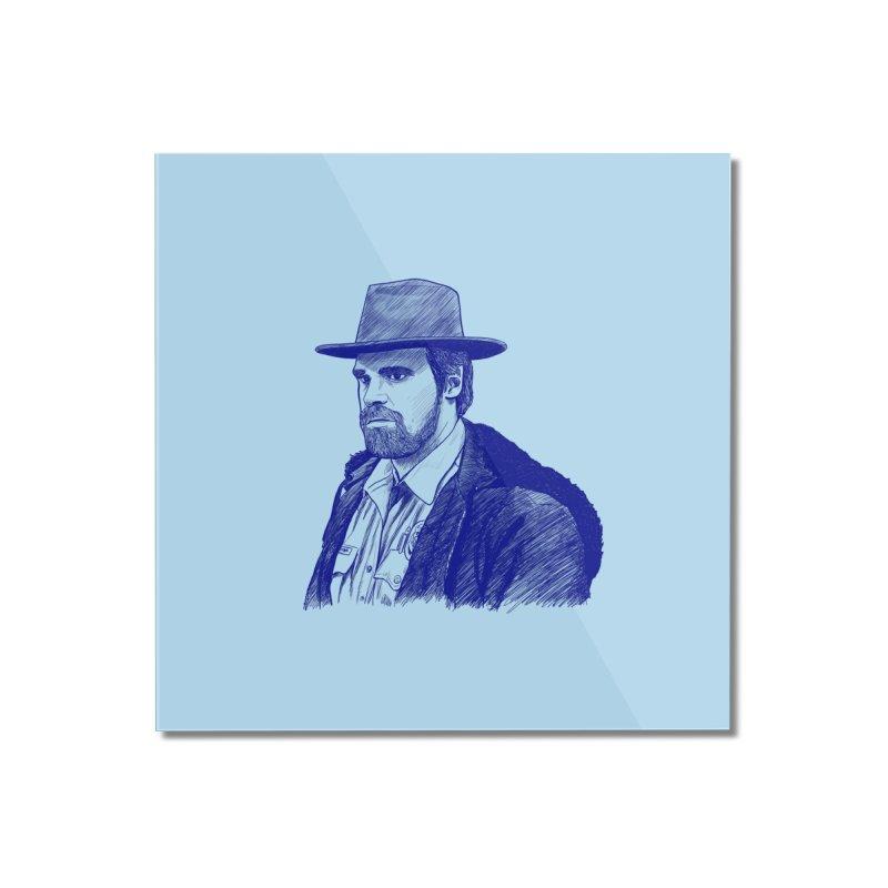 Hopper Home Mounted Acrylic Print by jenbackman's Artist Shop