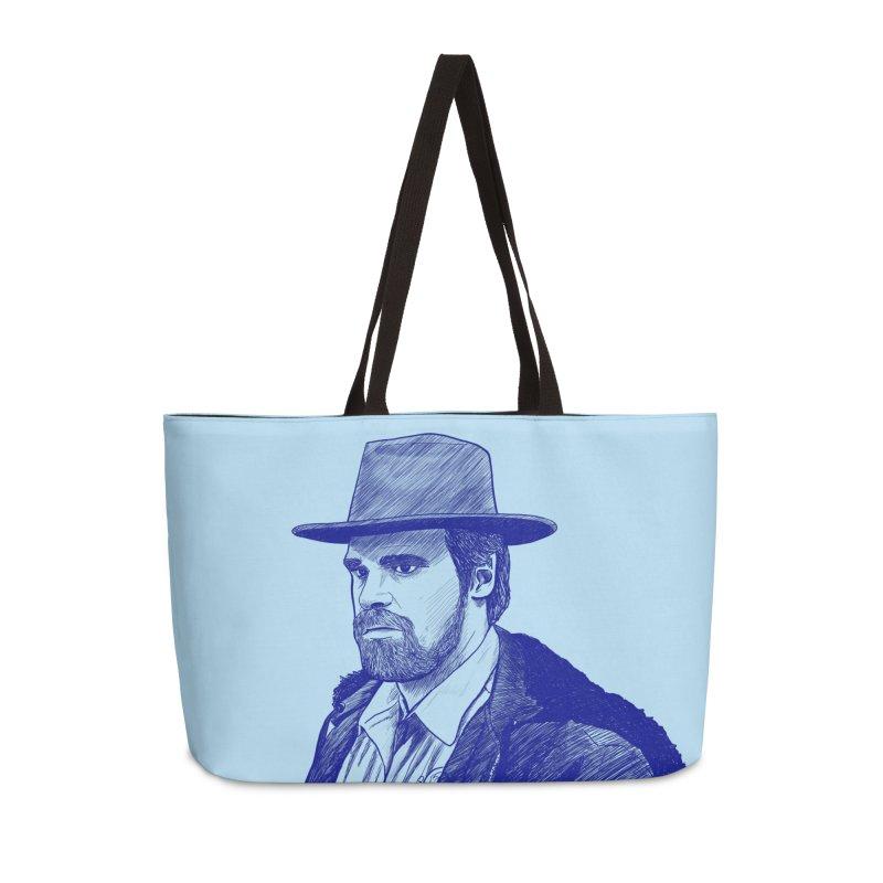 Hopper Accessories Weekender Bag Bag by jenbackman's Artist Shop