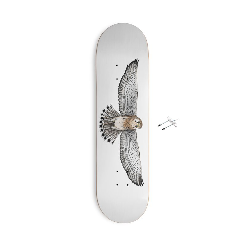 Kestrel Accessories With Hanging Hardware Skateboard by jenbackman's Artist Shop