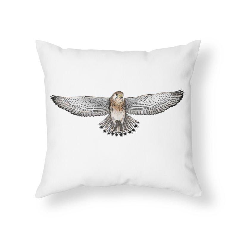 Kestrel Home Throw Pillow by jenbackman's Artist Shop