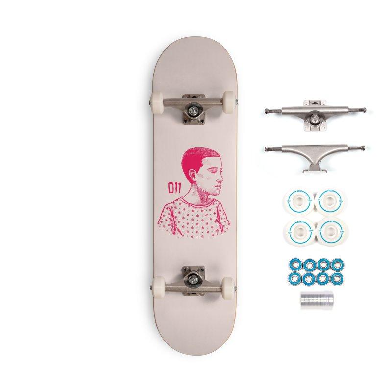 11 Accessories Complete - Basic Skateboard by jenbackman's Artist Shop