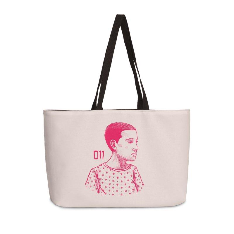 11 Accessories Weekender Bag Bag by jenbackman's Artist Shop