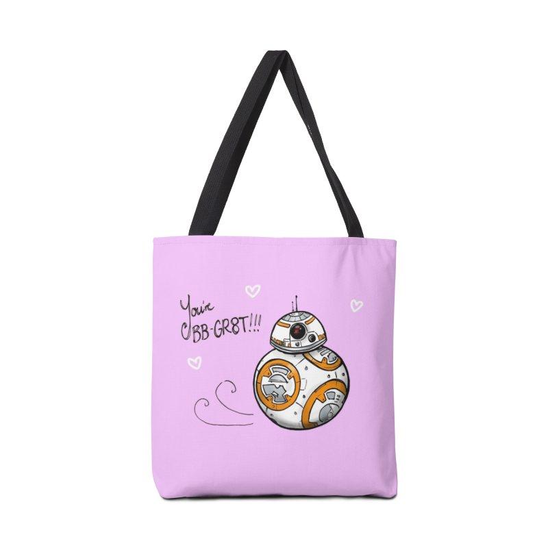 You're BB-Gr8t Accessories Tote Bag Bag by jenbackman's Artist Shop