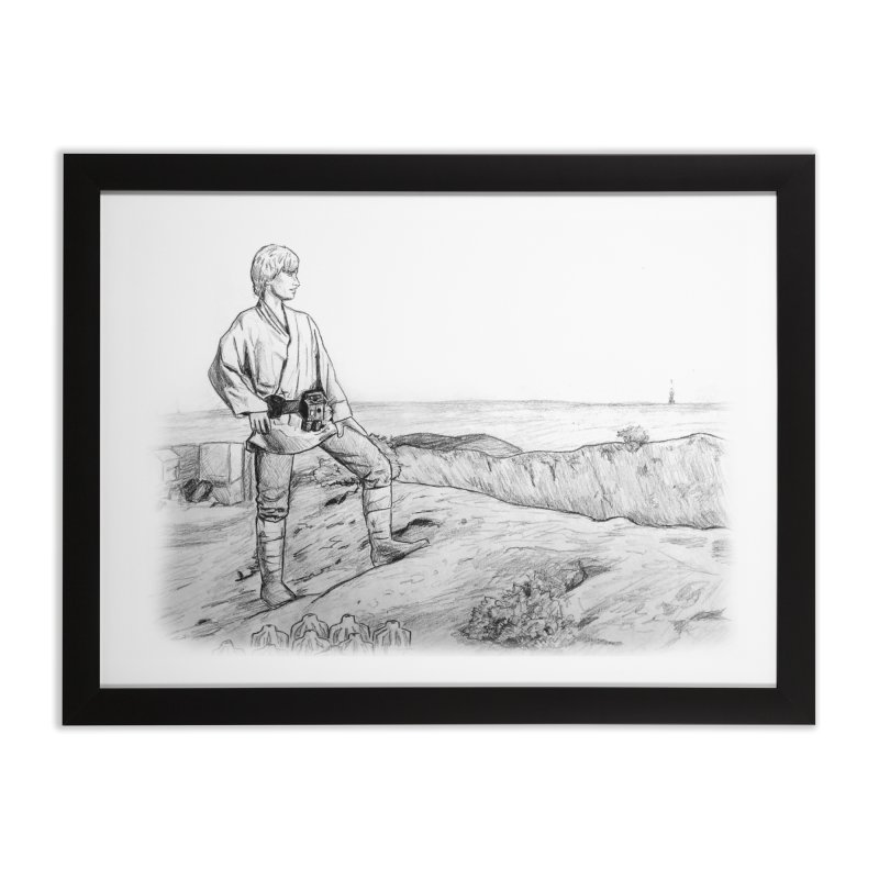 Luke Home Framed Fine Art Print by jenbackman's Artist Shop