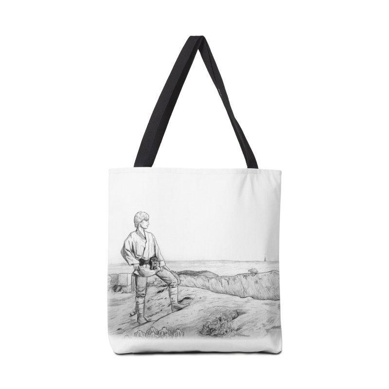 Luke Accessories Tote Bag Bag by jenbackman's Artist Shop