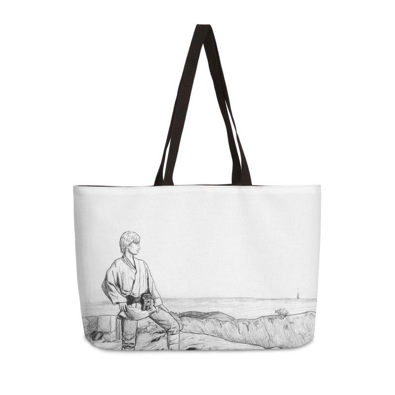 Luke Accessories Weekender Bag Bag by jenbackman's Artist Shop