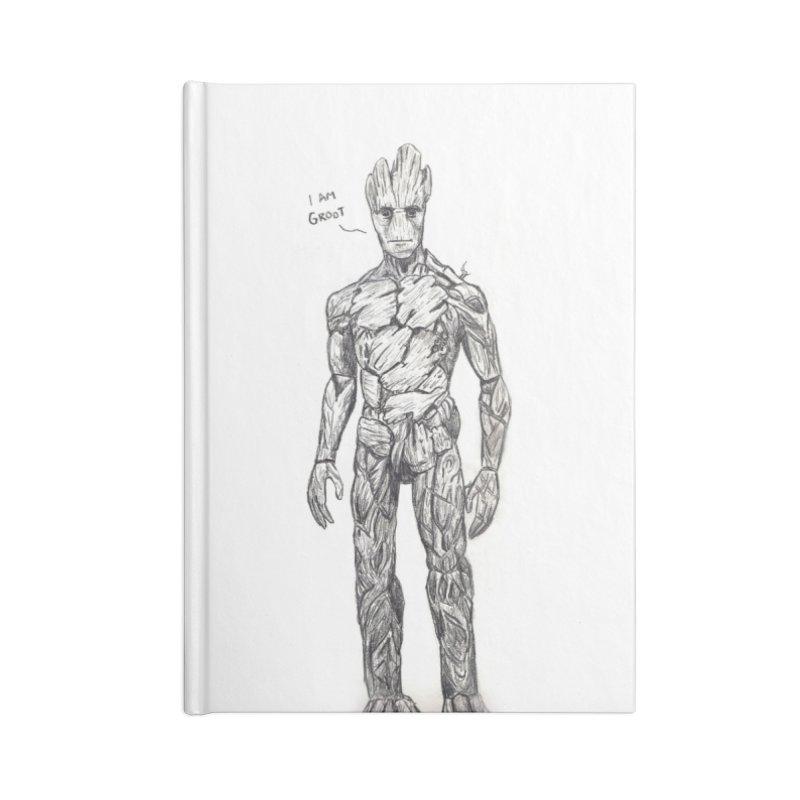 I am Groot Accessories Blank Journal Notebook by jenbackman's Artist Shop
