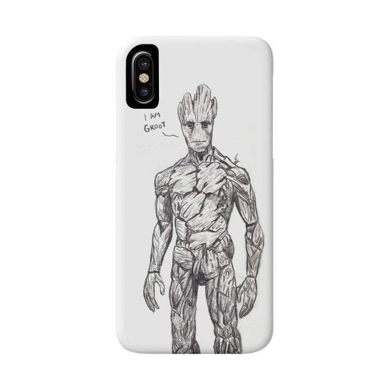 I am Groot Accessories Phone Case by jenbackman's Artist Shop