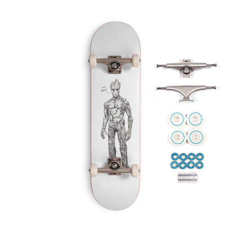 I am Groot Accessories Complete - Basic Skateboard by jenbackman's Artist Shop