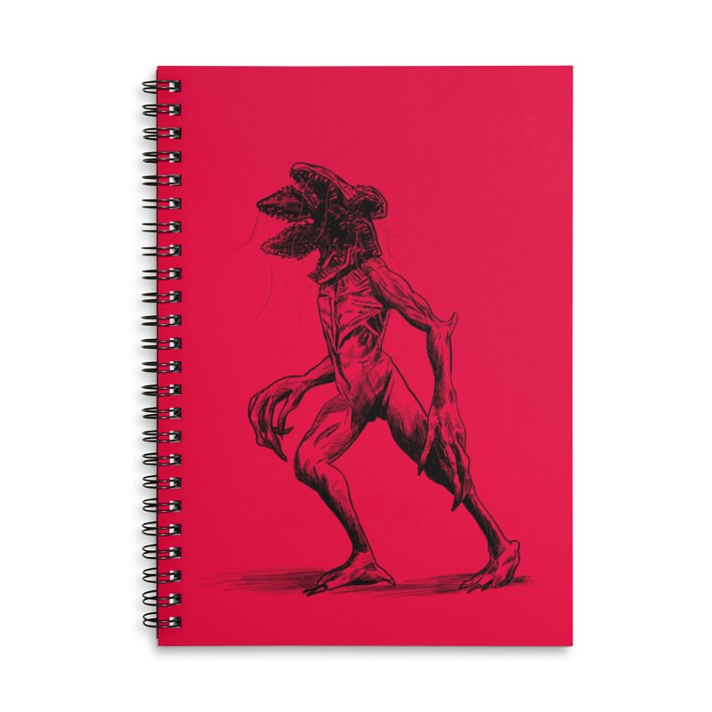 Demy Accessories Lined Spiral Notebook by jenbackman's Artist Shop