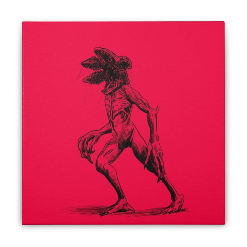 Demy Home Stretched Canvas by jenbackman's Artist Shop