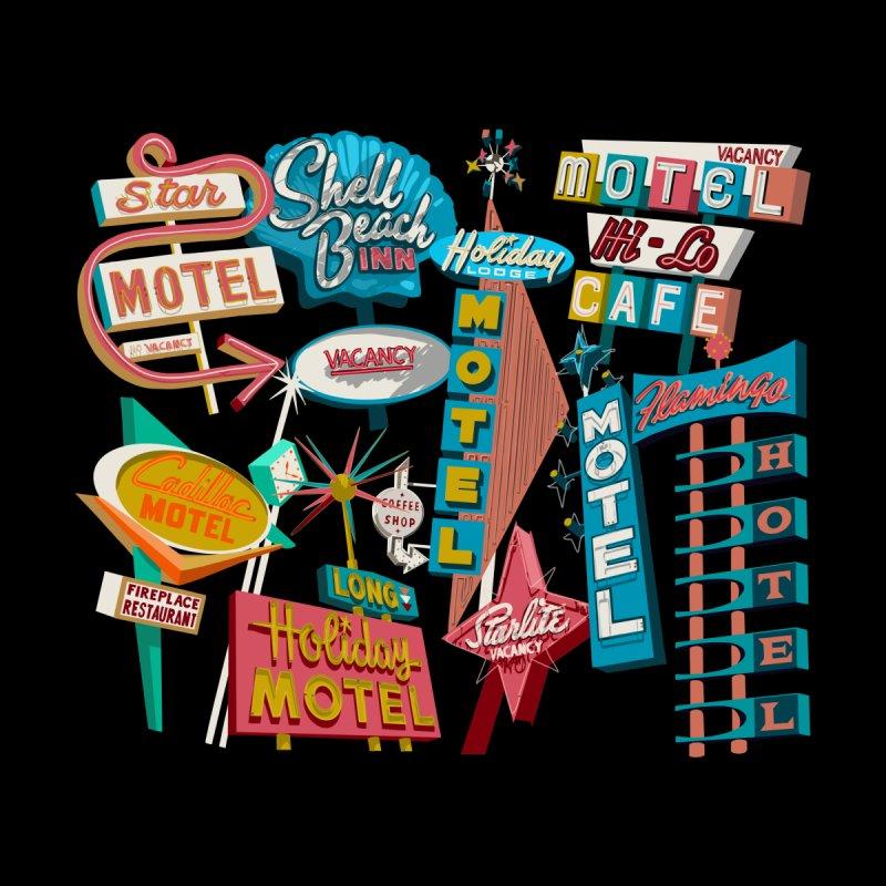 Hotel Motel Men's T-Shirt by Jen.B.Love Artist Shop