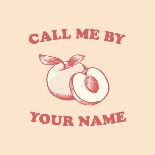Design for Call me by your name