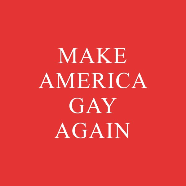 image for Make America Gay Again