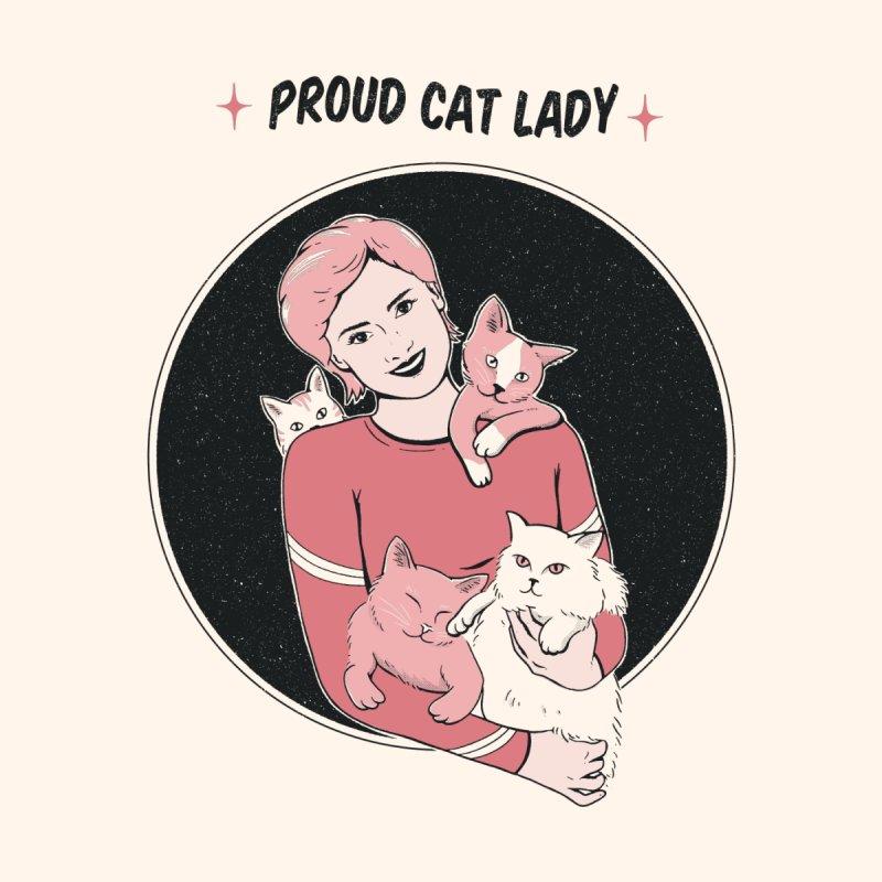 Proud Cat Lady Men's T-Shirt by jeniferprince's Artist Shop