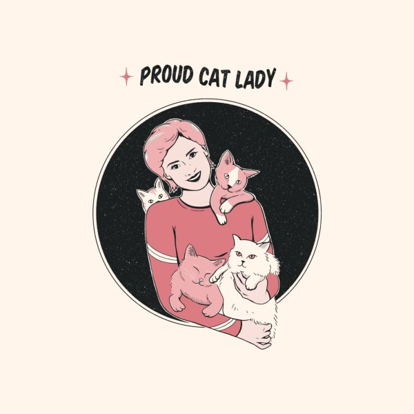 Design for Proud Cat Lady