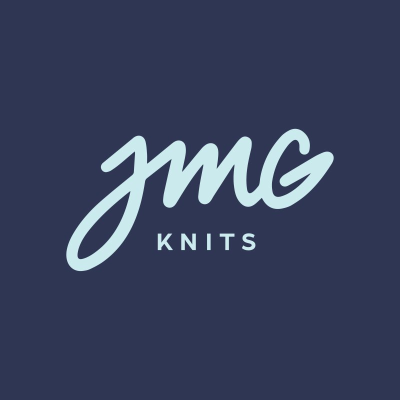 JMG Knits Logo Tee Men's T-Shirt by Jen Marquez Ginn's Shop
