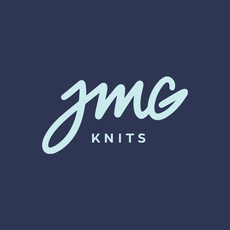 JMG Knits Logo Tee Men's Tank by Jen Marquez Ginn's Shop
