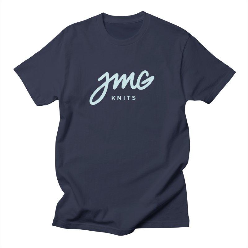 JMG Knits Logo Tee Men's T-Shirt by Jen Marquez Ginn's Shop