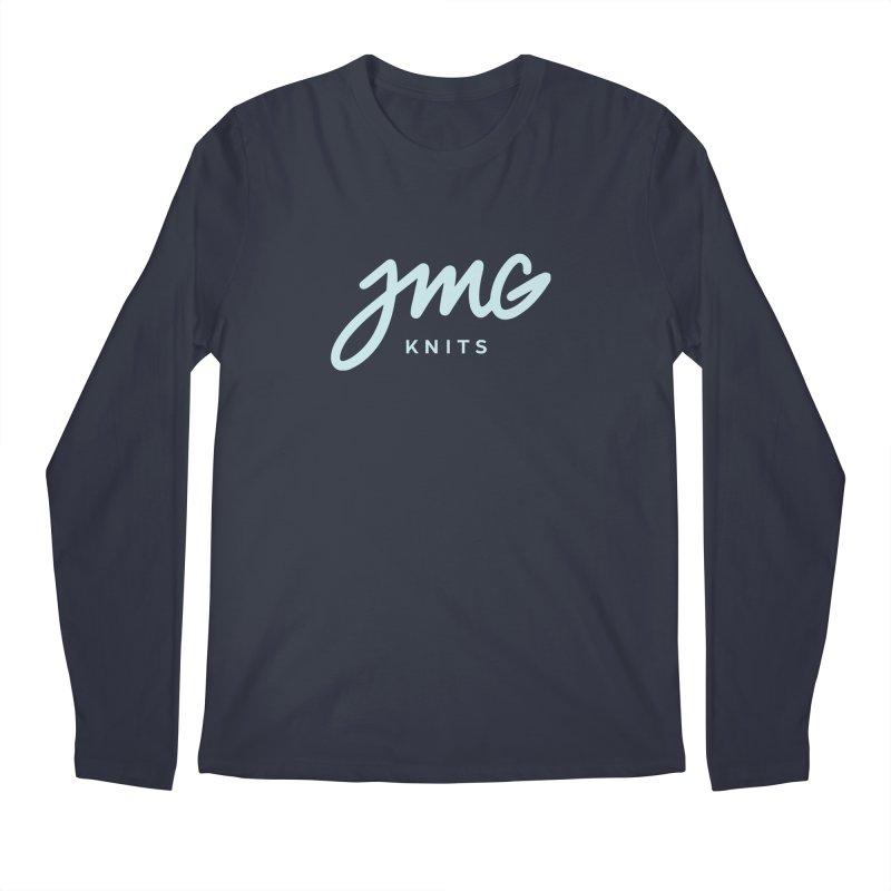 JMG Knits Logo Tee Men's Longsleeve T-Shirt by Jen Marquez Ginn's Shop