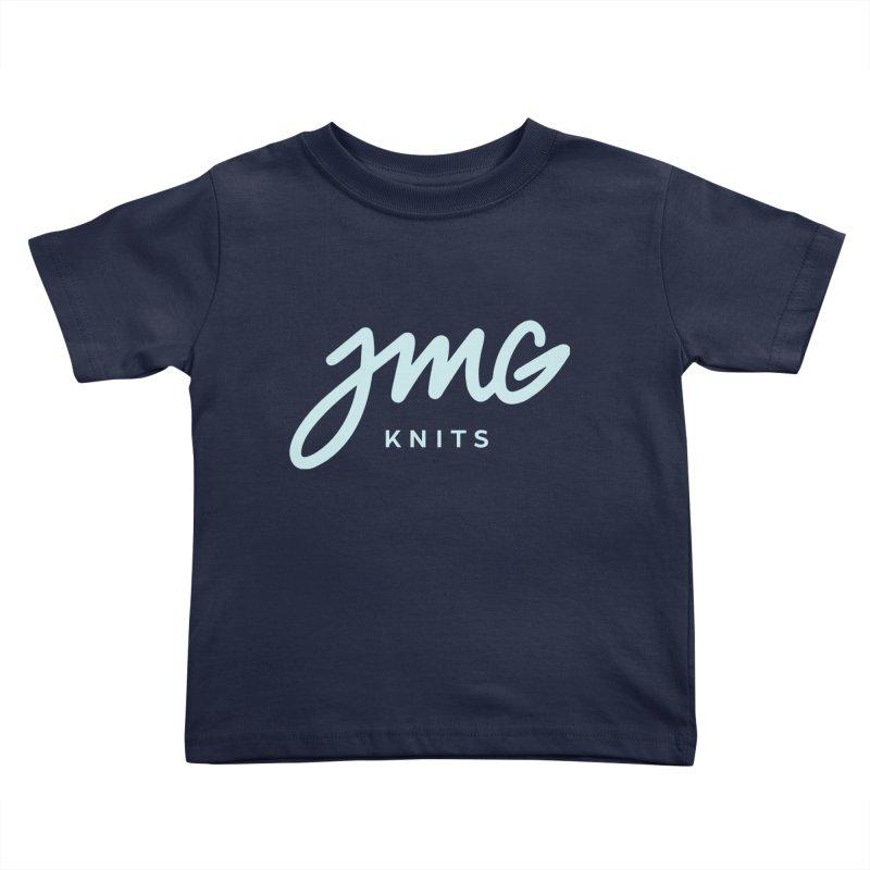 JMG Knits Logo Tee Kids Toddler T-Shirt by Jen Marquez Ginn's Shop