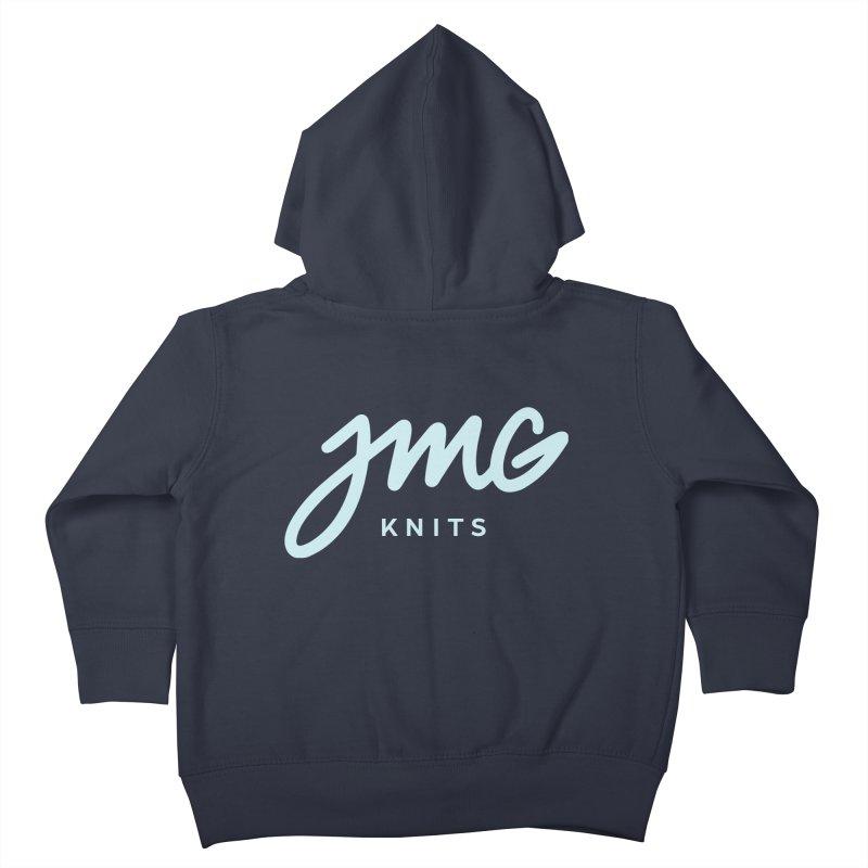 JMG Knits Logo Tee Kids Toddler Zip-Up Hoody by Jen Marquez Ginn's Shop