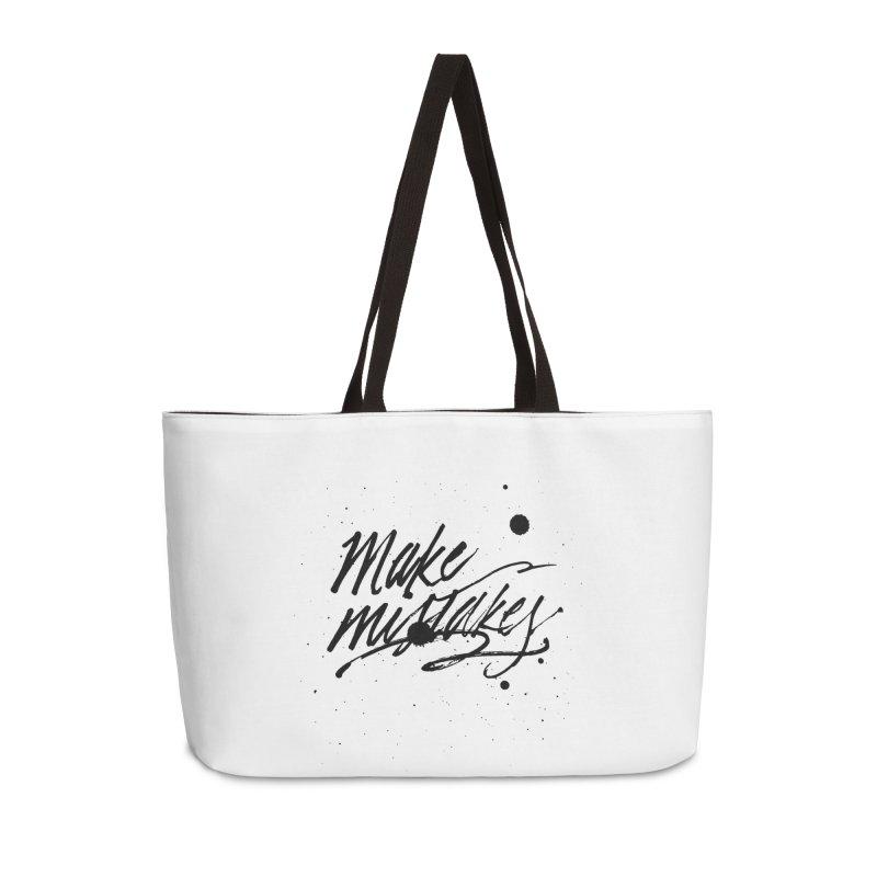 Make Mistakes Accessories Bag by Jen Marquez Ginn's Shop