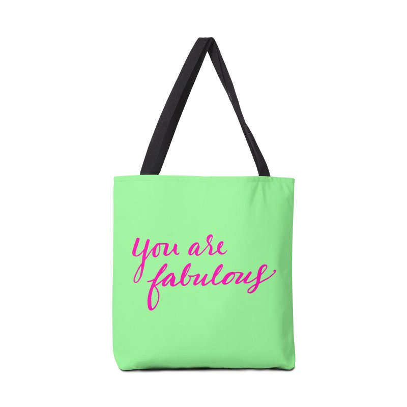 You Are Fabulous Accessories Bag by Jen Marquez Ginn's Shop