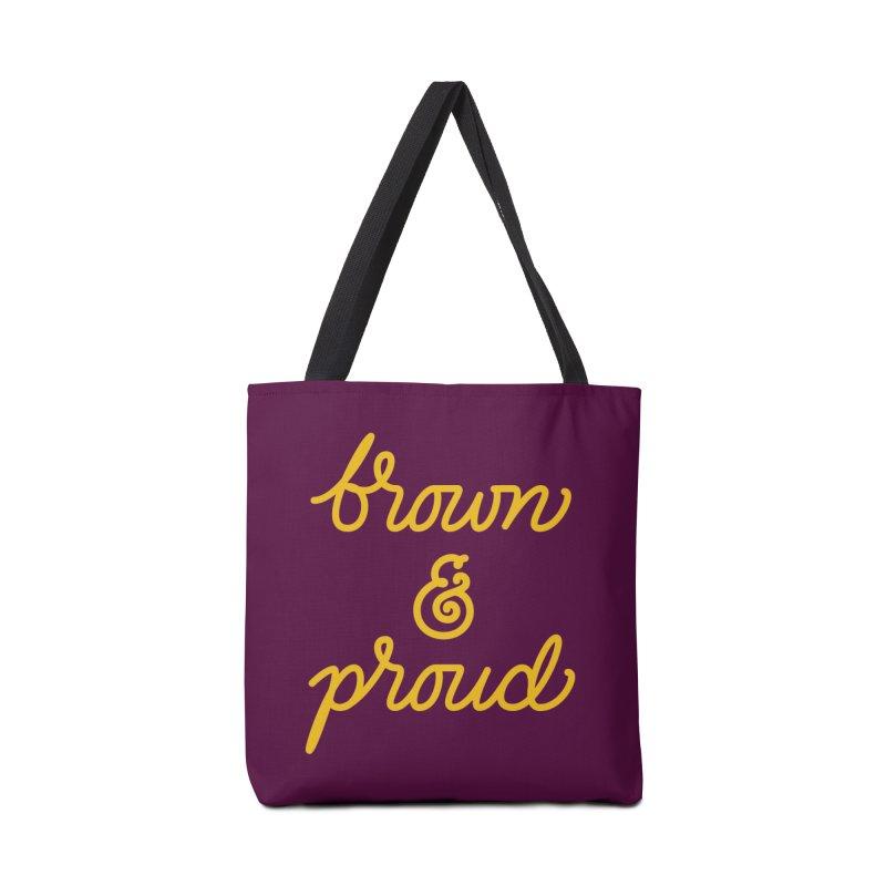 Brown & Proud Accessories Bag by Jen Marquez Ginn's Shop