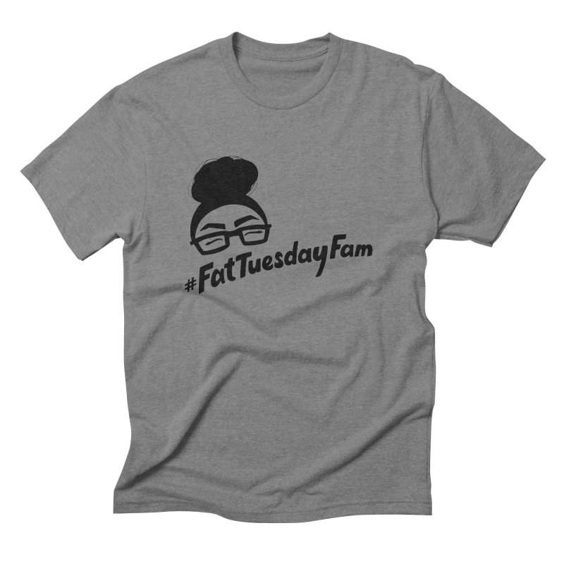 #FatTuesdayFam Fan Art - Black Men's  by Jen Marquez Ginn's Shop