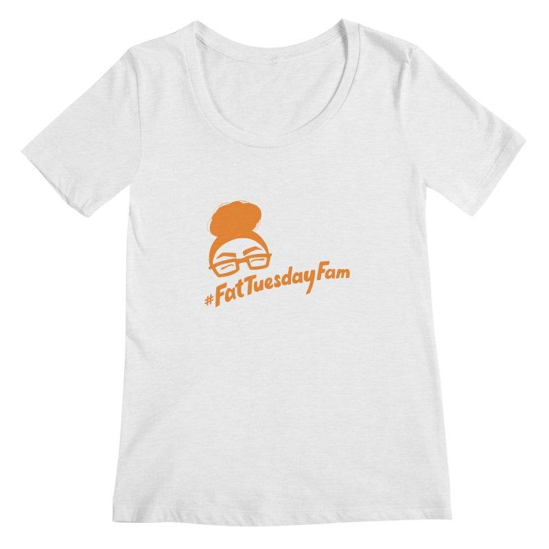 #FatTuesdayFam Fan Art - Orange Women's  by Jen Marquez Ginn's Shop