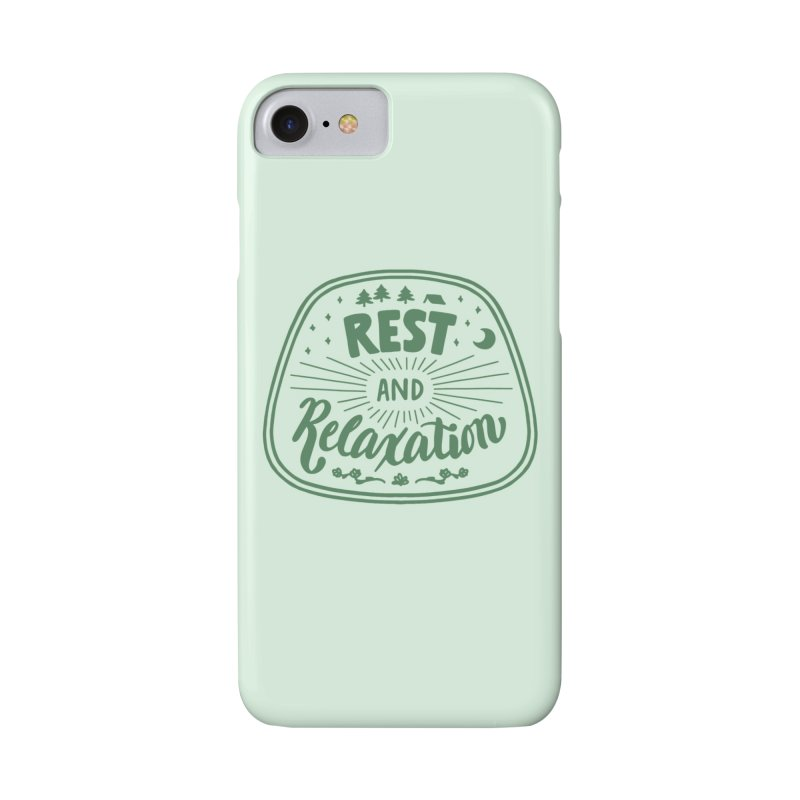 Rest and Relaxation Accessories Phone Case by Jen Marquez Ginn's Shop