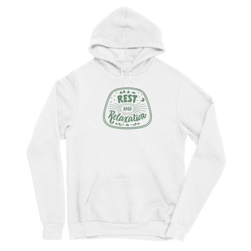 Rest and Relaxation Men's Pullover Hoody by Jen Marquez Ginn's Shop