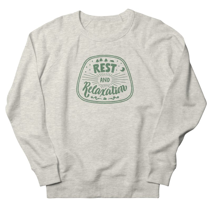 Rest and Relaxation Men's Sweatshirt by Jen Marquez Ginn's Shop
