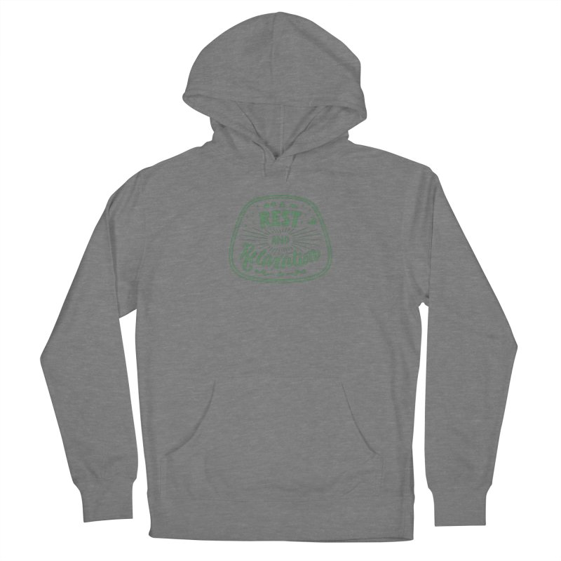 Rest and Relaxation Women's Pullover Hoody by Jen Marquez Ginn's Shop