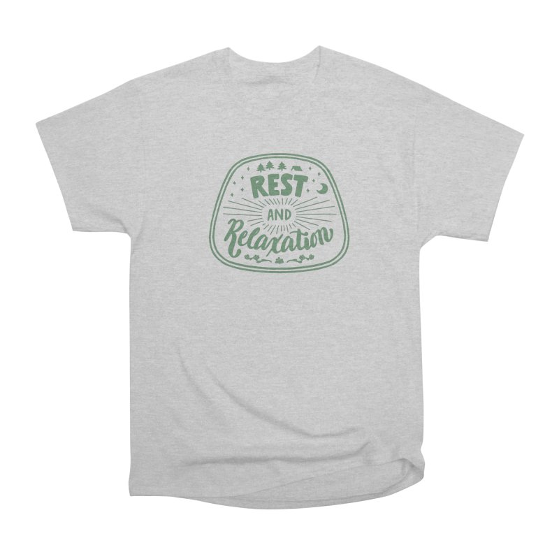 Rest and Relaxation Women's Heavyweight Unisex T-Shirt by Jen Marquez Ginn's Shop