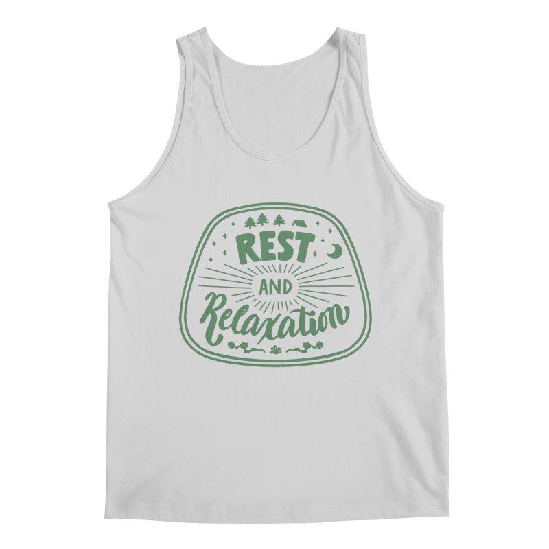 Rest and Relaxation Men's Regular Tank by Jen Marquez Ginn's Shop