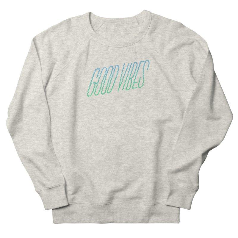 Good Vibes Men's Sweatshirt by jenmussari's Artist Shop